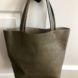 Sole Society Vegan Leather Tote